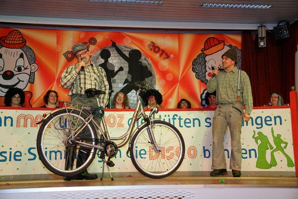 """Sketch """"Fahrrad"""" - Werbeteam"""