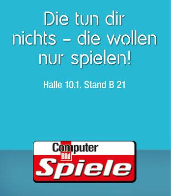 AGENTUR: Zum Goldenen Hirschen HH/Dammtor | KUNDE: COMPUTER BILD SPIELE | ART: Anna Arndt | JAHR: 2015