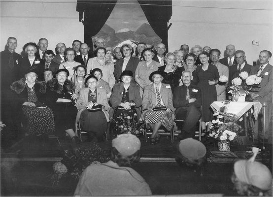 Golden anniversary, Foothills Community Church, November 7, 1954