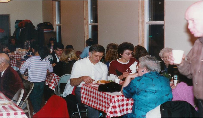 Foothills Spaghetti Feed, April 2, 1989