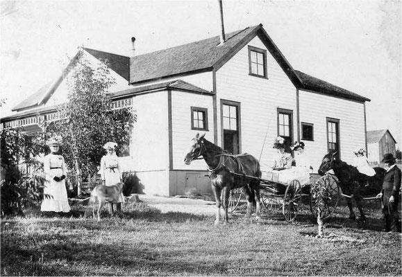 Charley W. Johnson residence at Forker/Judkin roads.
