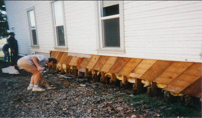 Siding Project, September 1995
