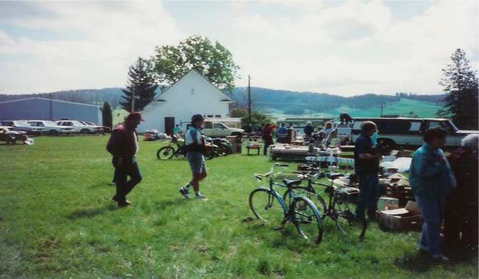 The Foothills Community Yard Sale, May 1990