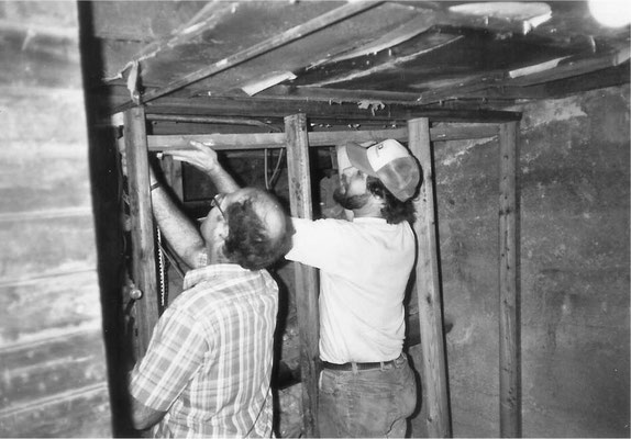 The Following Pictures Show the Work Day for the Center, held in November 1989