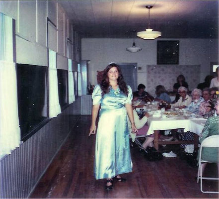 Susan Smith (Candy's sister) in Marion's dress