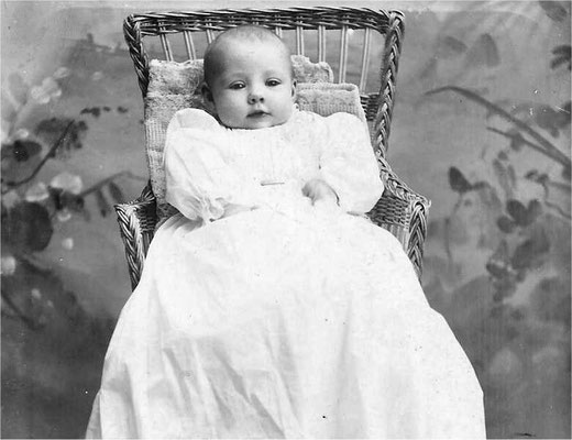 Violet Johnson Pipgras' baby picture