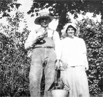Apple Picking Time: Lester Pipgras & Violet Johnson