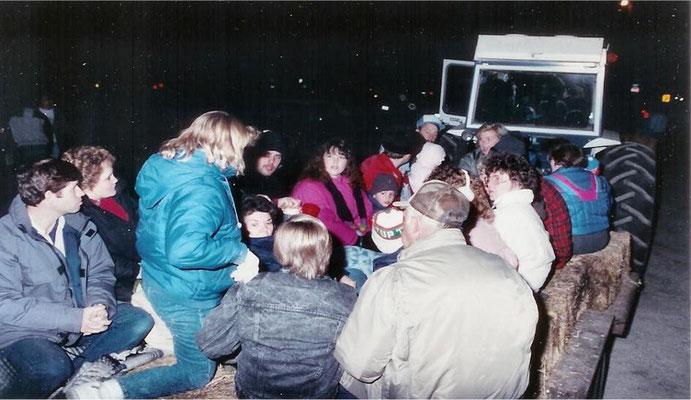 Halloween Hayride, 1988