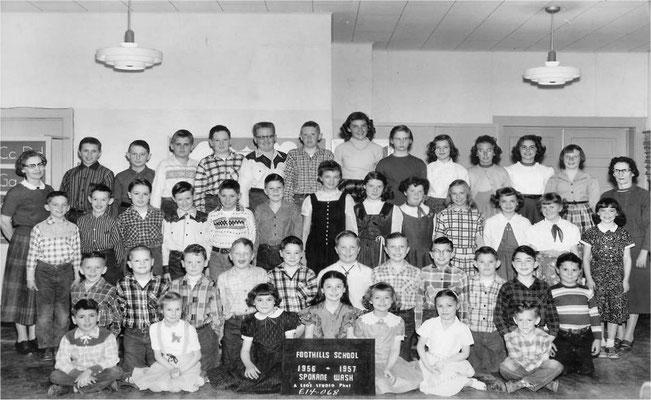 Foothills School, 1956-1957