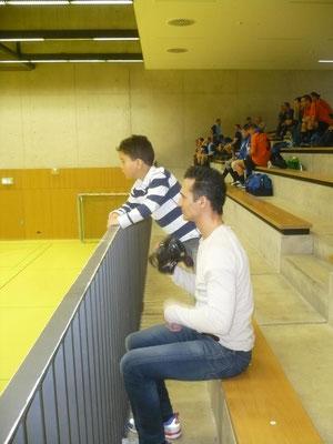 Cristiano Vieira  mit Vater Filipe