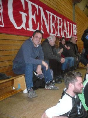 Hatte unsere Teilnahme an dem Turnier vermittelt:  Frank Lieber (derzeit verletzt; gute Besserung!)