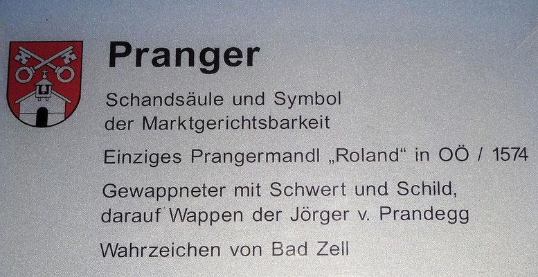 Bad Zell / Prangerschild