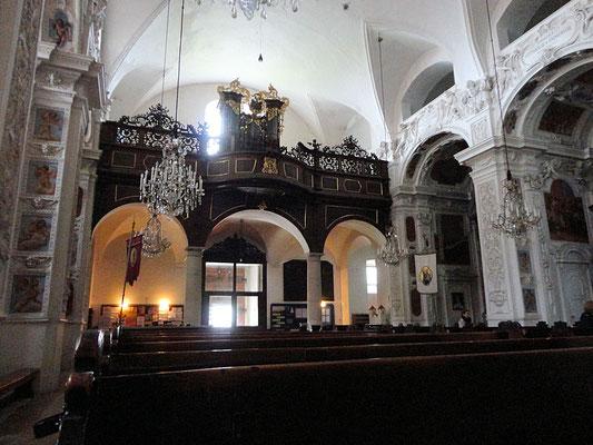 Chor mit Orgel Basilika Loretto