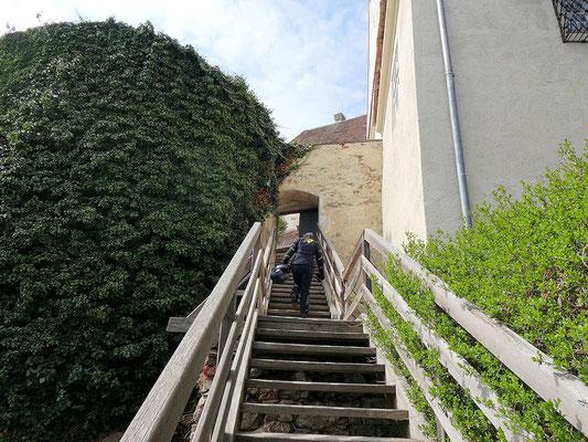 Aufsteig Schloss Krumbach