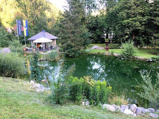 Fischteich am Flötzerweg
