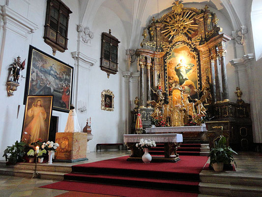 Altalrraum Basilika Loretto