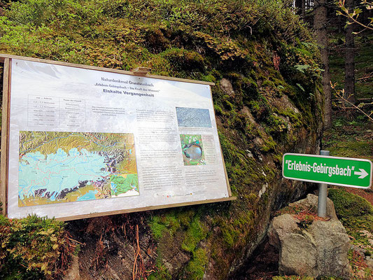 Info-Tafel Granitzenbach