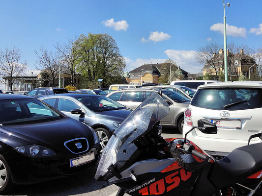 Parkplatz am Cobenzl