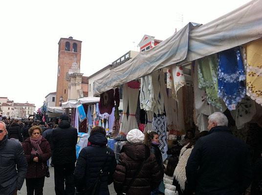 Chioggia Wochenmarkt