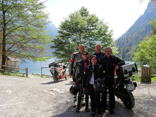 Lago del Predil (Ernst, Tanja, Hilde, Michael, Peppal)