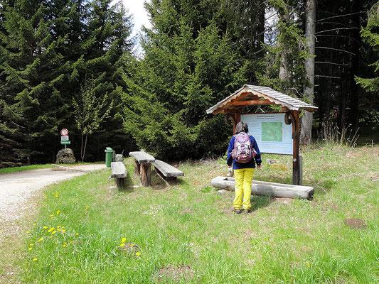 Eingang Naturlehrpfad Granitzenbach