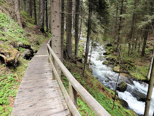 Holzsteig Granitzenbach