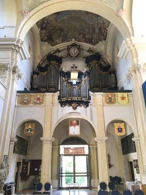 Orgel der Basilika von Anton Pfliegler