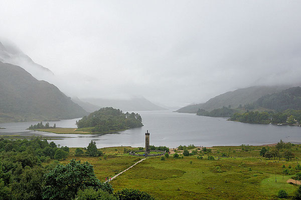 Glenfinnan-Monument/Loch Shiel