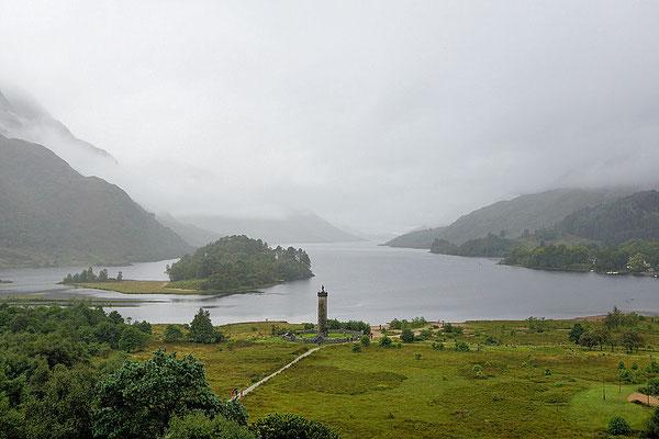 Glenfinnan-Monument/Loch Shiel