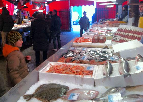 Chioggia Fischmarkt