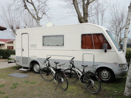 "Sottomarina Camping ""Grande Italia"" Stellplatz"