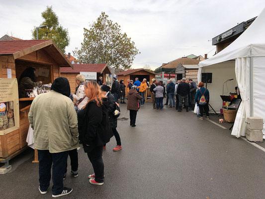 Bauernmarkt in Podersdorf