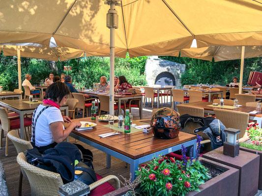 Geras, Schüttkasten Restaurant, Schanigarten