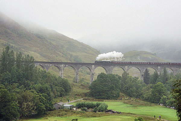 Glenfinnan-Viadukt/Jakobite Steam Train