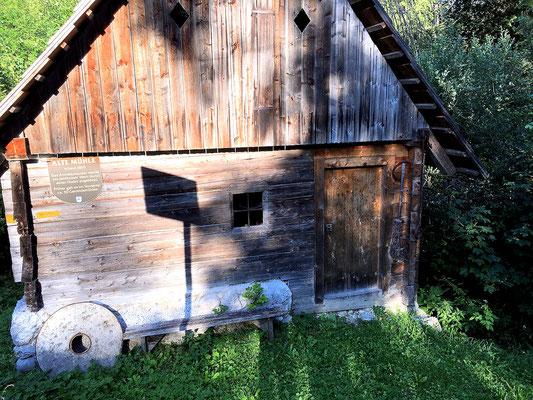alte Getreidemühle neben der Steyr