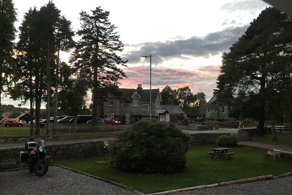 Braemer / Lodge Hotel / Abendstimmung