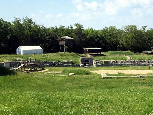 archäologische Ausgrabungen Carnuntum