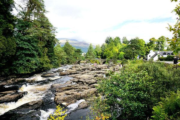 Falls of Dochart bei Killin