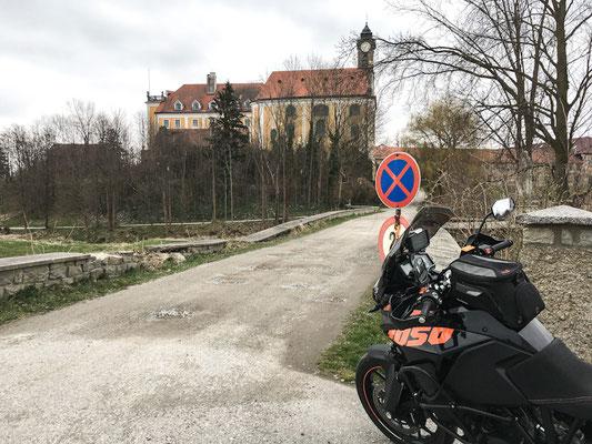 Kirchberg am Walde / mittelalterliches Schloss