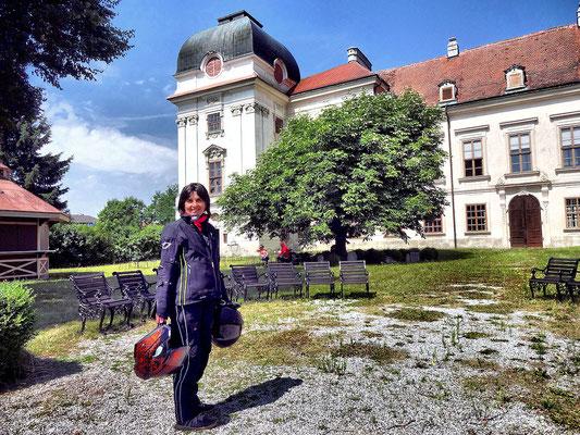Riegersburg Schloss Ruegers Cafegarten