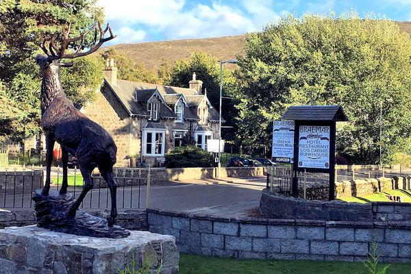 Braemer / vom Lodge Hotel Blick zur Callater Lodge