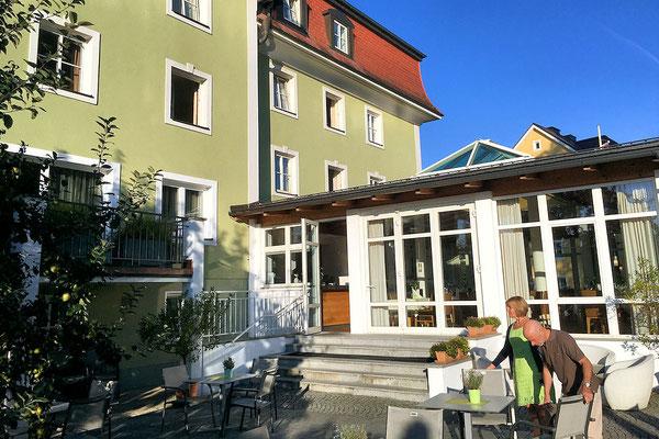 Gesundheitshotel Guggerbauer / Gastgarten