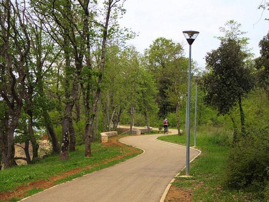 Funtana / Promenadenweg nach Porec