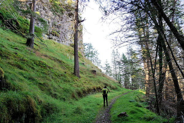 Wanderweg um den Creag Choinnich
