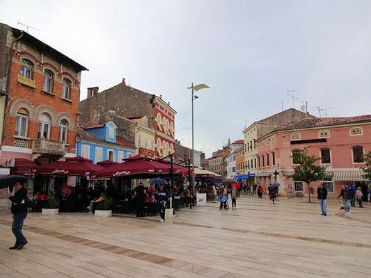 Porec / Hauptplatz
