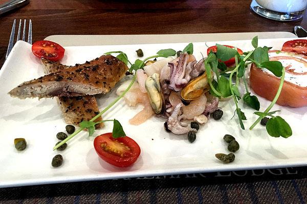 Braemer / Lodge Hotel - Restaurant / Seafoodvorspeisenteller