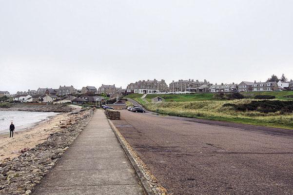 Lossiemouth / West Bay Weg vom Strand
