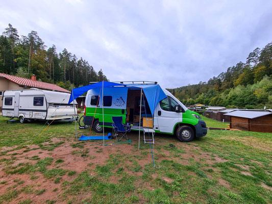 Am Campingplatz