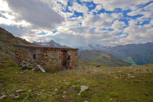 unsere Biwakhütte