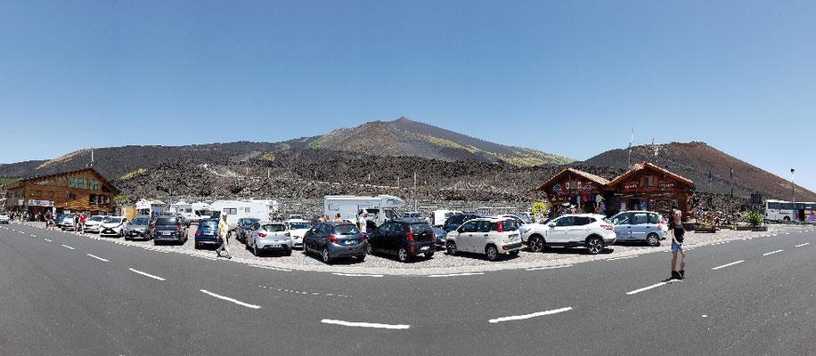 Besucherparkplatz Ätna